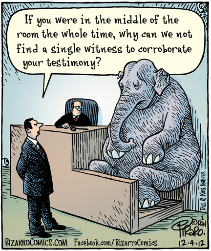 Idioms - The elephant in the room - Writers Write