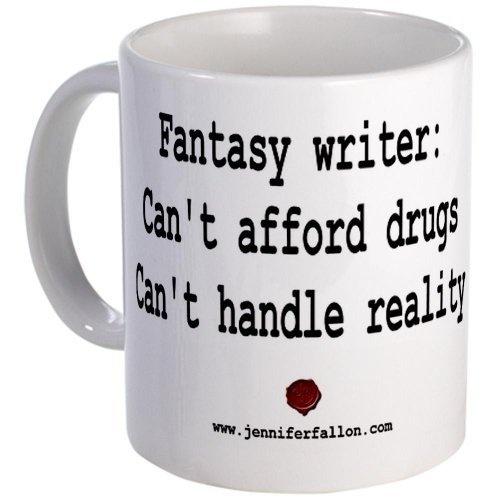A Fantasy Writer's Mug