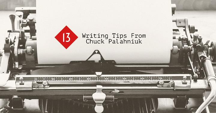 13 Writing Tips From Chuck Palahniuk