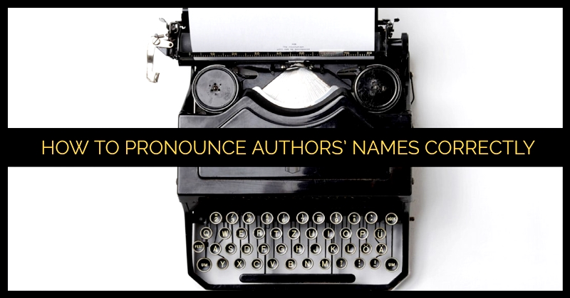 How To Pronounce Authors' Names