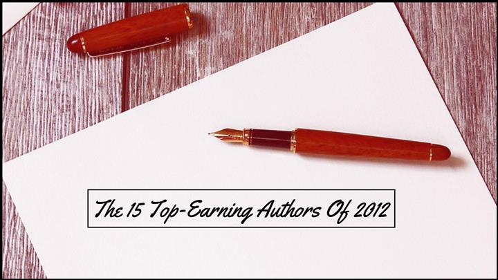 The 15 Top-Earning Authors - 2012