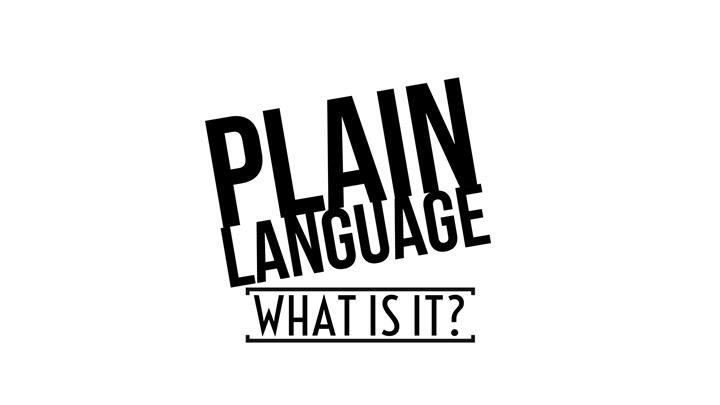 What Is Plain Language?