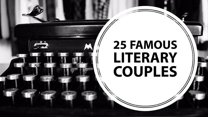 25 Famous Literary Couples