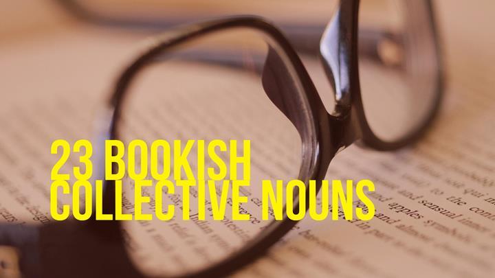 23 Bookish Collective Nouns