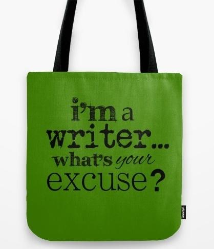 I'm a writer - bag