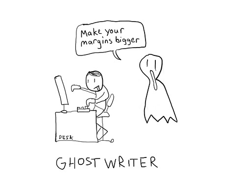 Ghost writer bachelor thesis