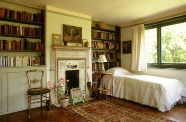 Virginia Woolfs Bedroom