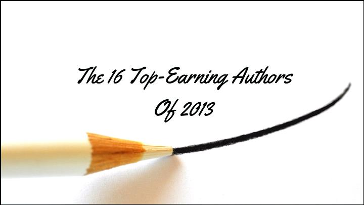 top-earning authors of 2013