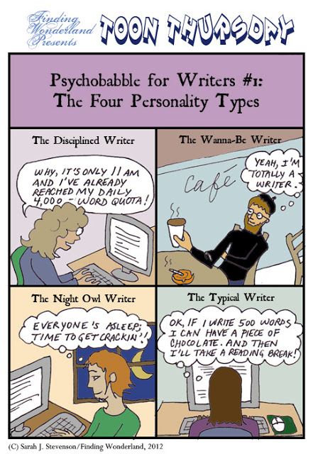The Four Types of Writers | Writers Write