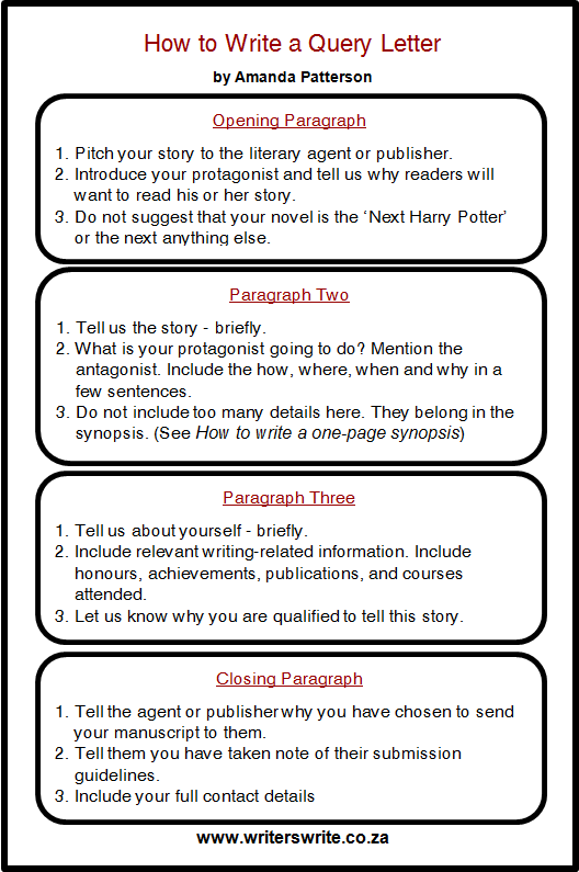How to write a query letter in 12 easy steps writers write how to write a query letter in 12 easy steps altavistaventures Image collections