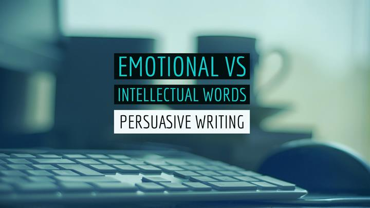 Emotional vs Intellectual Words