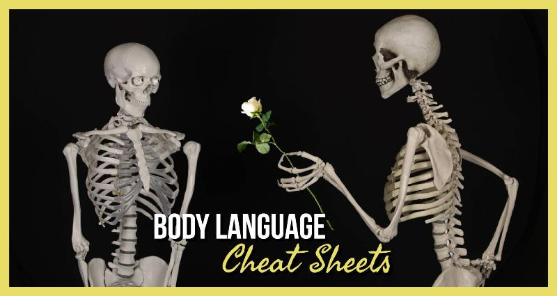 Body Language Cheat Sheets For Writers