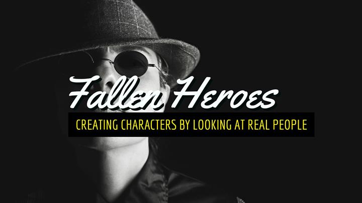 Creating Characters By Looking At Real People