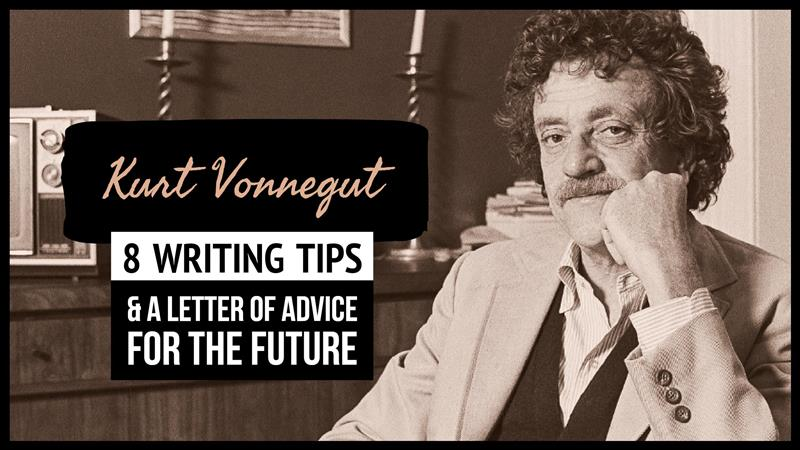 Kurt Vonnegut's 8 Writing Tips (& A Letter Of Advice For The Future)