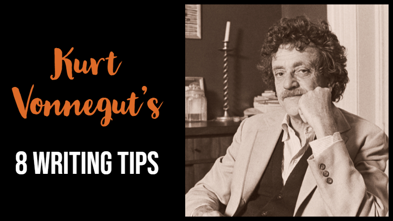 Kurt Vonnegut's 8 Writing Tips