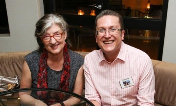 Barbara Kingsolver with Anthony Ehlers