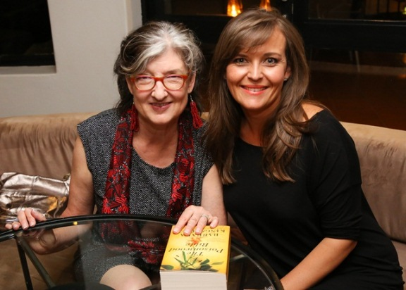 Barbara Kingsolver with Mia Botha
