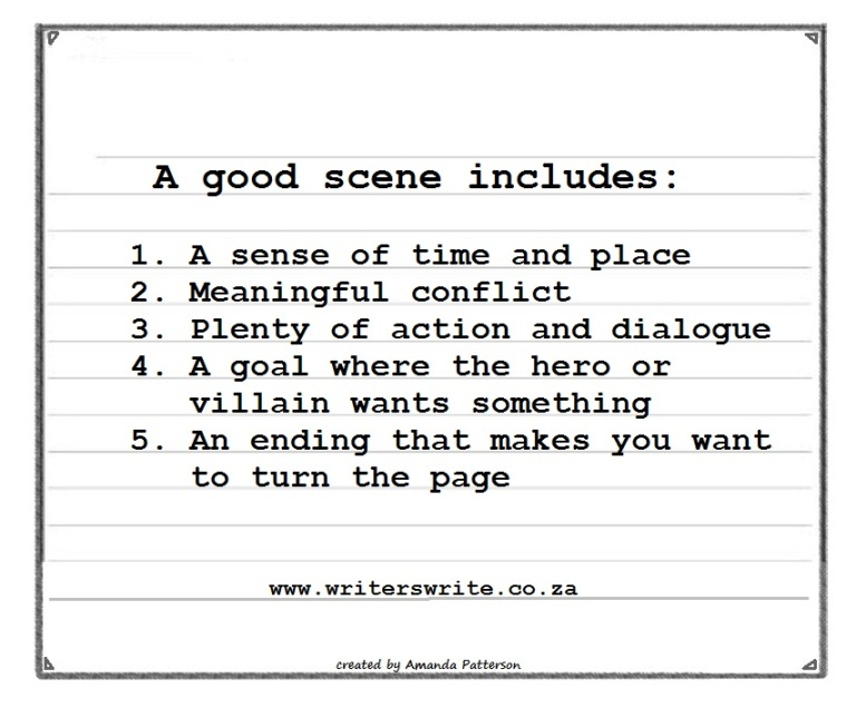 The 5 Elements Of A Good Scene