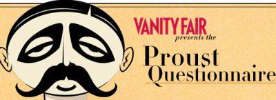Proust's Questionnaire