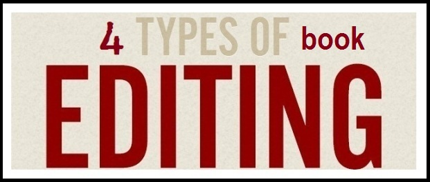 4 types of book editing