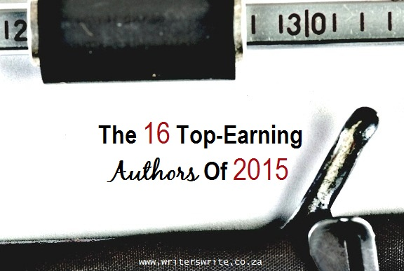 The 16 Top-Earning Authors - 2015