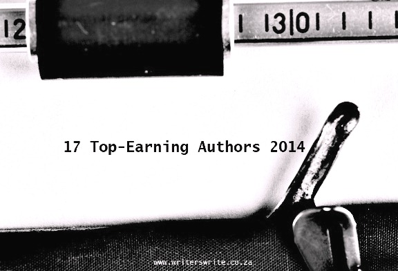 The 17 Top-Earning Authors - 2014