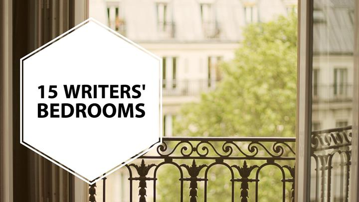 15 Famous Writers And Their Bedrooms