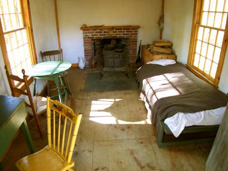 Henry David Thoreau - where writers sleep