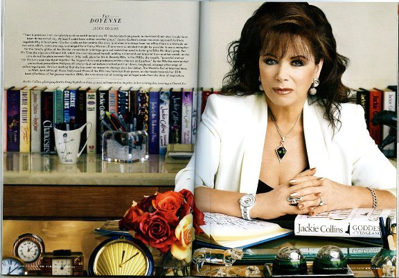 5 Bestselling Storytelling Lessons From Jackie Collins