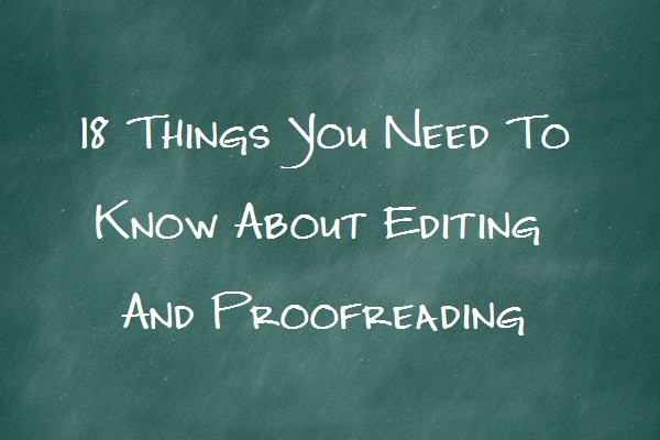 English In Italian: 18 Things Writers Need To Know About Editing And