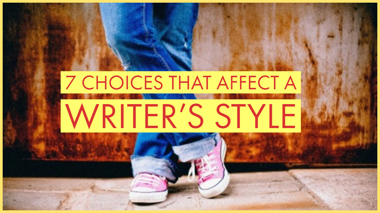 which term is used for a writers word choice