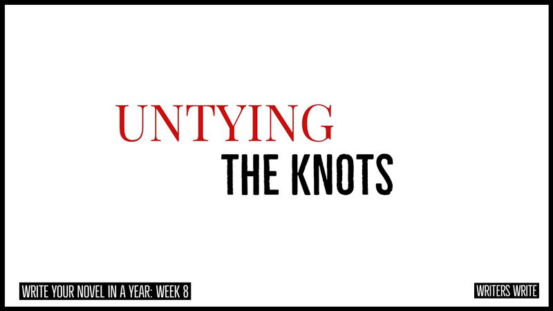 untying the knots in your book