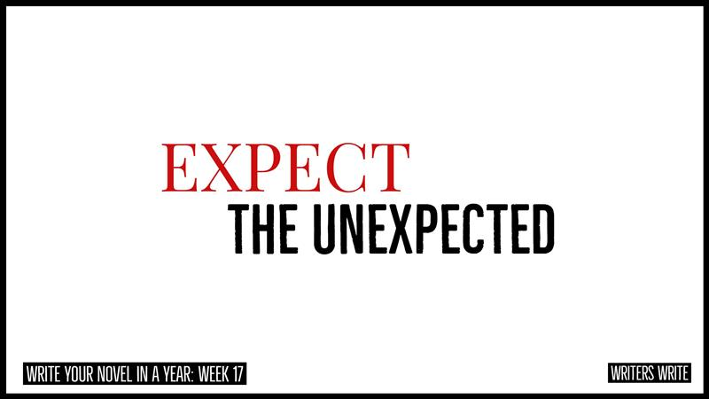 Expect The Unexpected - Writers Write