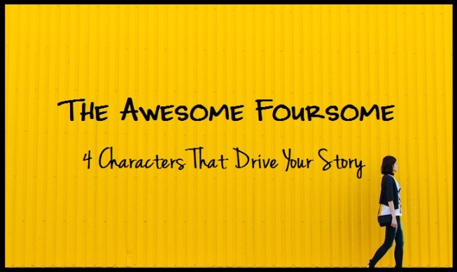 The Awesome Foursome Fictional Characters