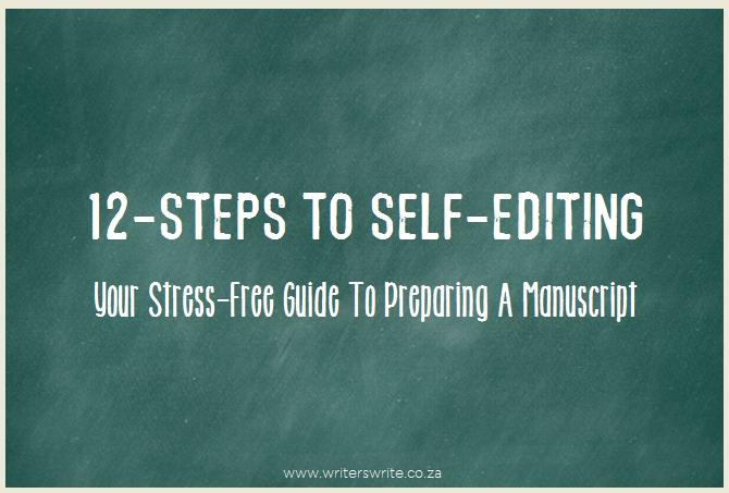 12-Steps To Self-Editing