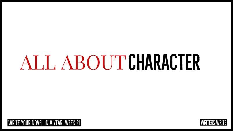 All About Character - Writers Write