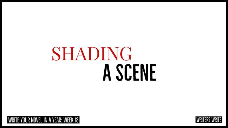 shading a scene to create contrast