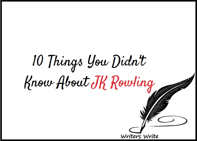 10 Things You Didn't Know About J.K. Rowling