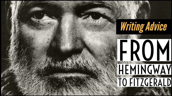 Writing advice from Ernest Hemingway to F.Scott Fitzgerald