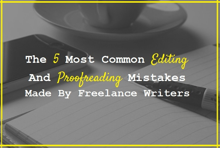 English In Italian: The 5 Most Common Editing And Proofreading Mistakes