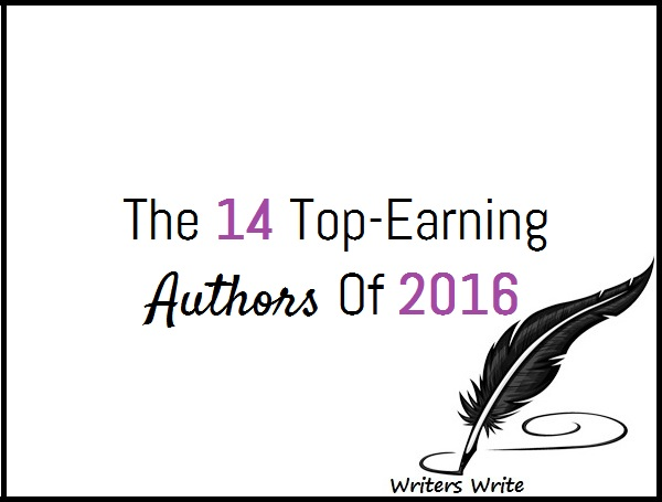 Top Earning Authors Of 2016