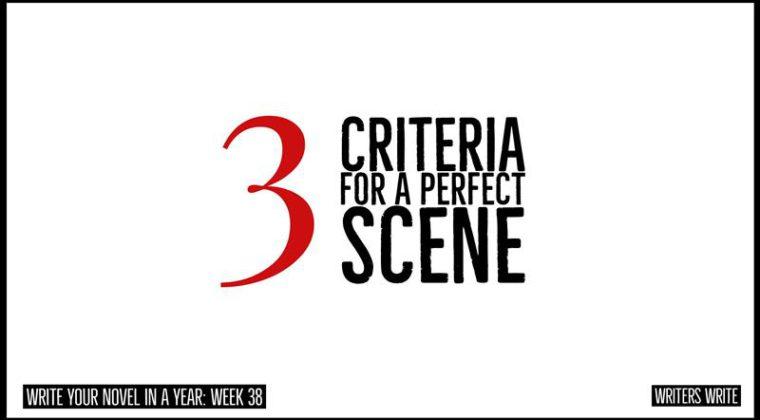 3 Criteria For Writing A Perfect Scene