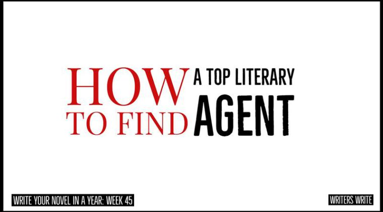 how to find a top literary agent