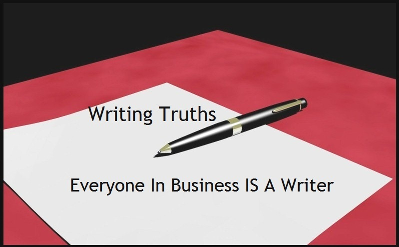 everyone in business is a writer