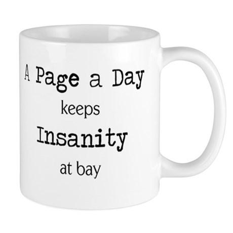 Writers Write Crazy Mug