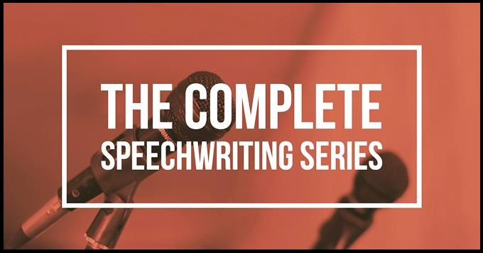 The Complete Speechwriting Series