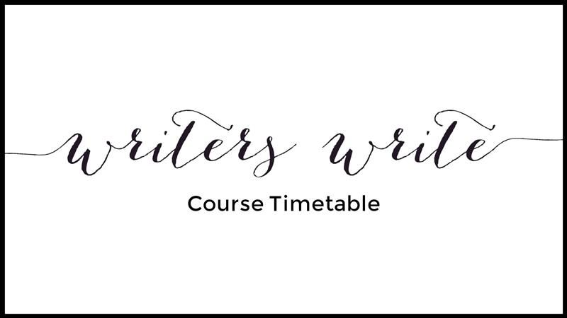 Our Writing Courses - Writers Write