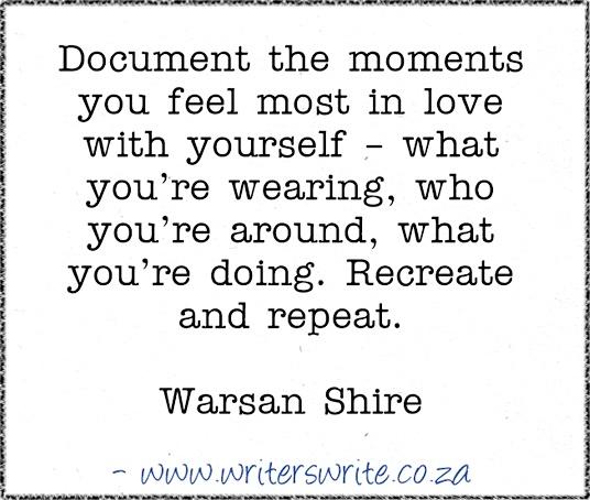 Quotable – Warsan Shire | Writers Write