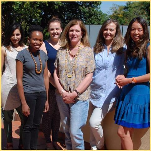 Refiloe Moahloli, Mia Botha, Writers Write Course
