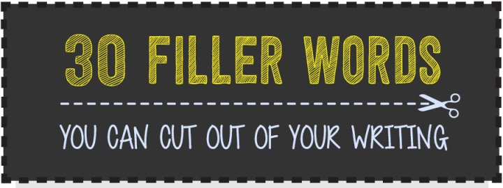 filler words to cut out of your writing
